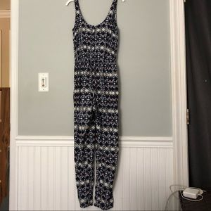 Hollister Tribal Printed Jumpsuit